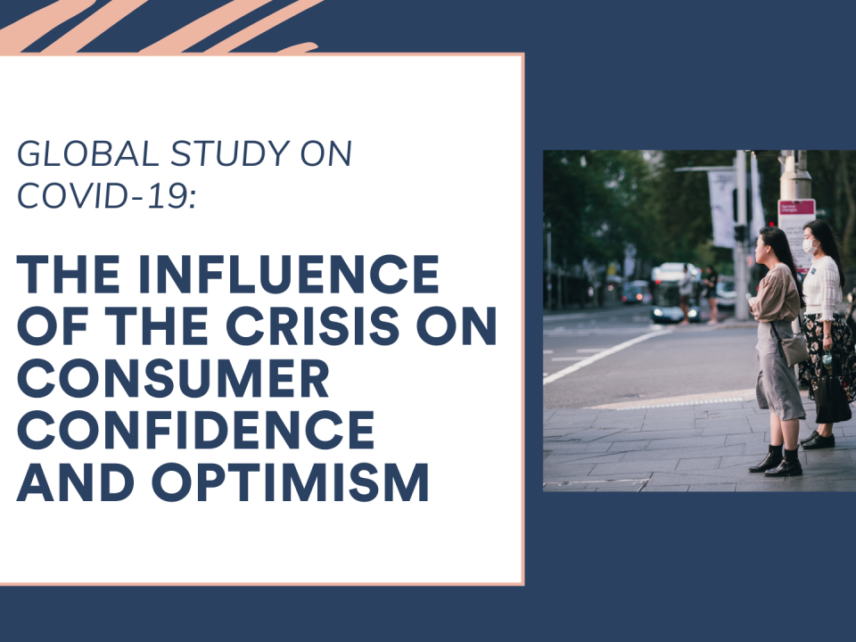 The influence of the crisis on consumer confidence and optimism